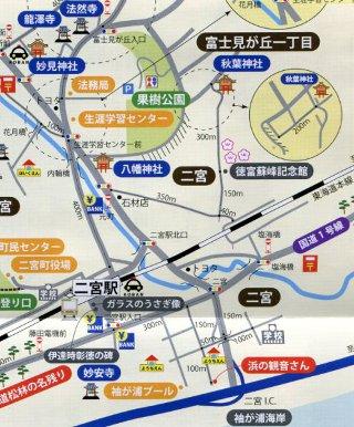 西湘二宮支局地図