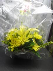 誕生プレゼント花