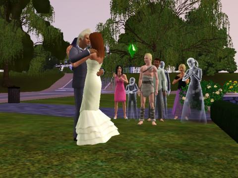 やっと結婚式