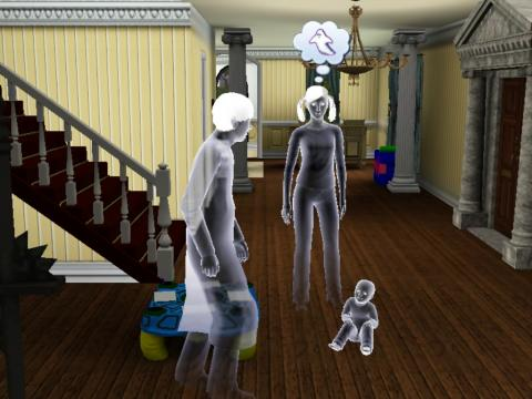 幽霊「あ、幽霊」