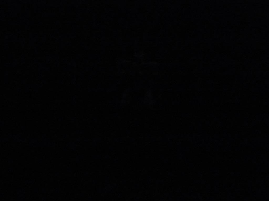 ライトを消しました