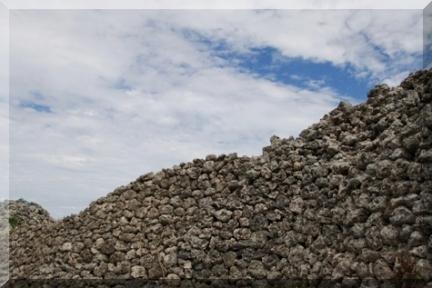 ⑤具志川城石垣