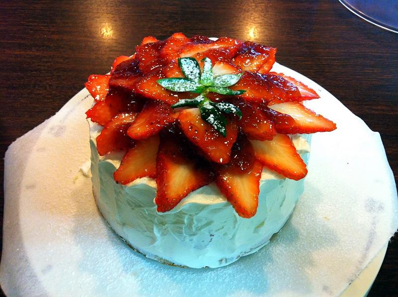 今日の日替わりショートケーキ