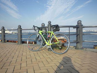 みなとみらい_自転車