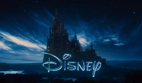 ディズニーのモーションロゴがだいぶ遊んでます