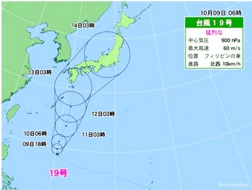 日本の進路図