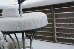 雪が降って2
