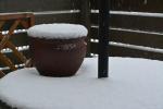 雪がふって。1