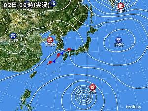 2日天気図