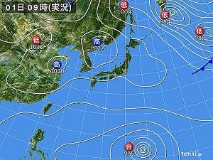 1日天気図