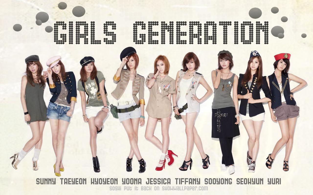 SNSD 少女時代 소녀시대  壁紙 WallPaper