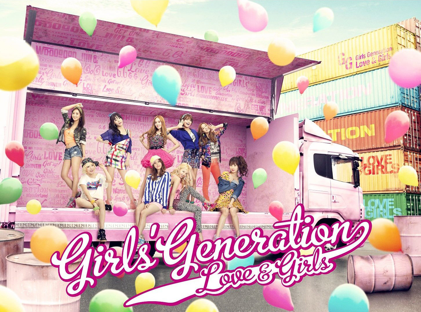SNSD 少女時代 LOVE&GIRLS 全員 2013 壁紙 WallPaper