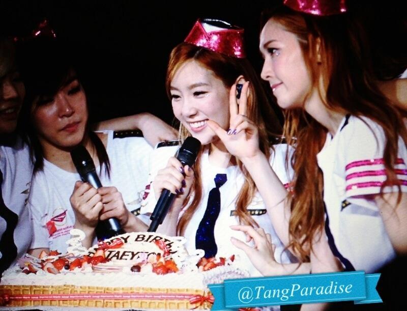 Taeyeon 2013JAPANTOUR Birthday