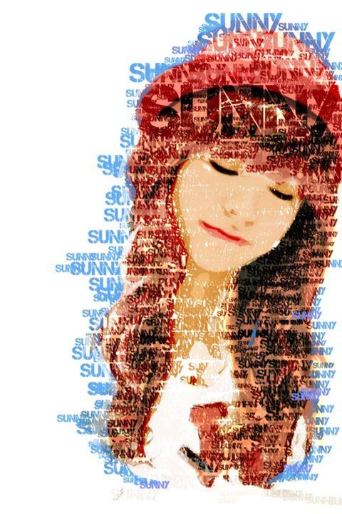 SNSD 少女時代 サニー Sunny  FanArt