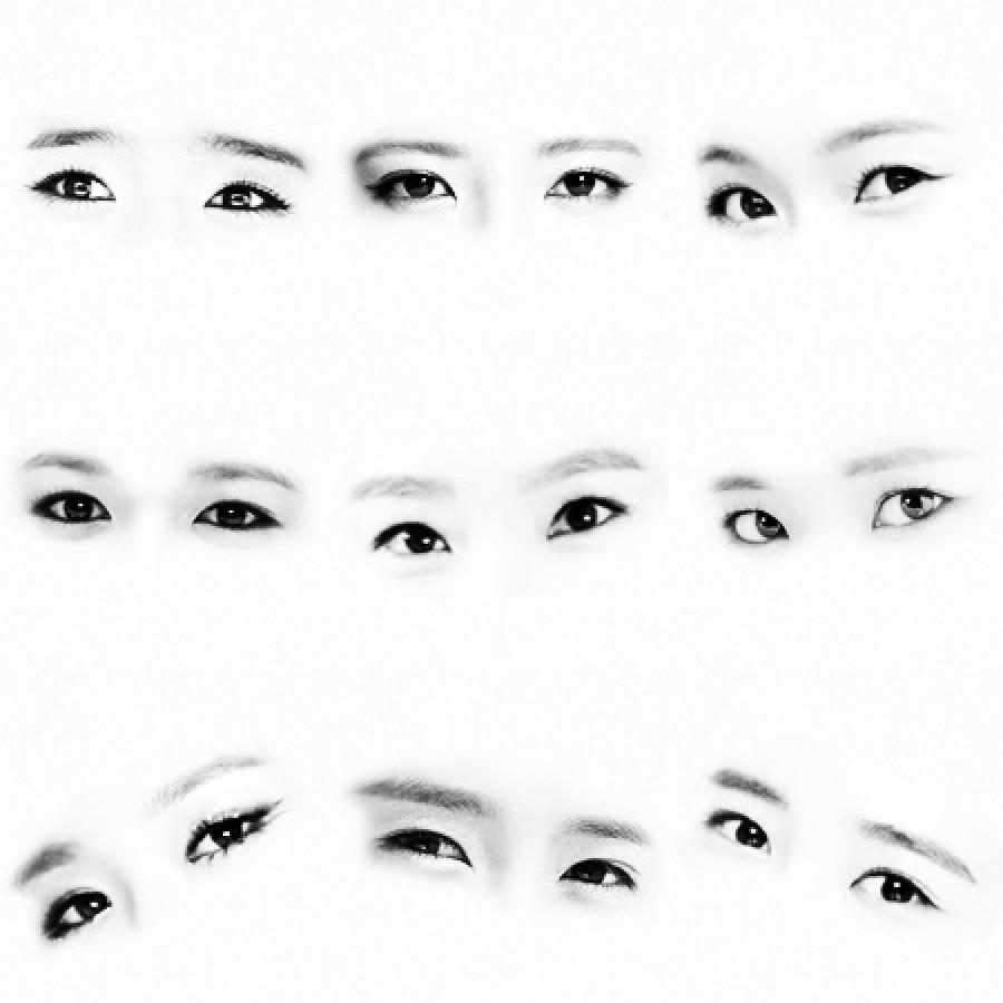 SNSD 少女時代 소녀시대  全員 壁紙 WallPaper 目 EYES おめ目あてクイズ
