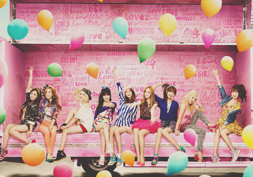 SNSD 少女時代 LOVE&GIRLS 全員 2013