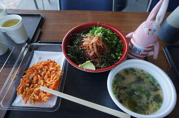 かきあげ&沖漬け丼セット?