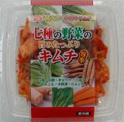 七種の野菜の旨みたっぷり甘辛キムチ 250g