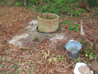 重宝する井戸