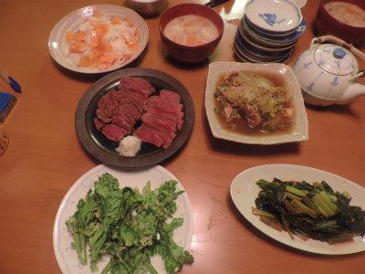 11.30夕食