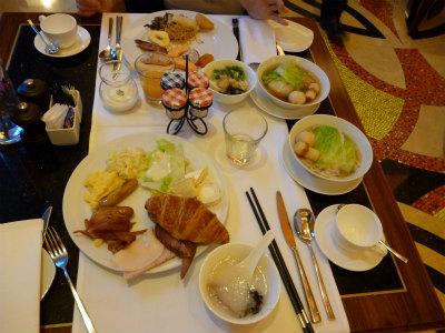 ●ホテルの朝食1