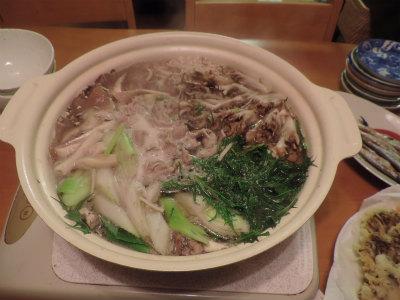 キノコ鍋2