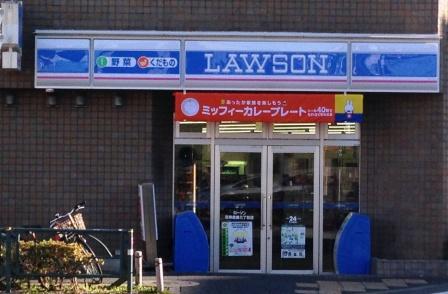 東京のローソン_H25.11.30撮影