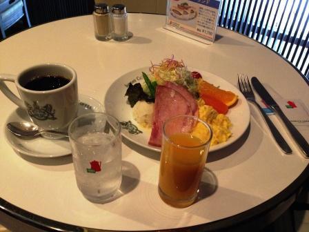 京の朝食セット_H25.12.10撮影
