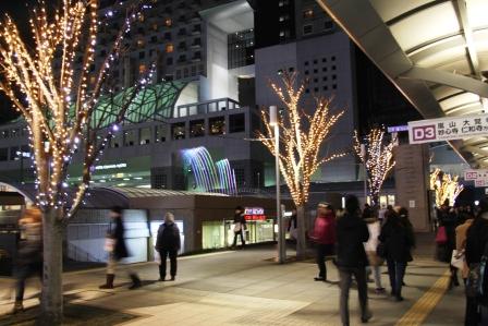 京都駅のクリスマス_H25.12.10撮影