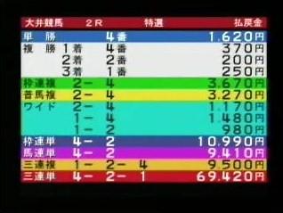 20110929大井2R的中2