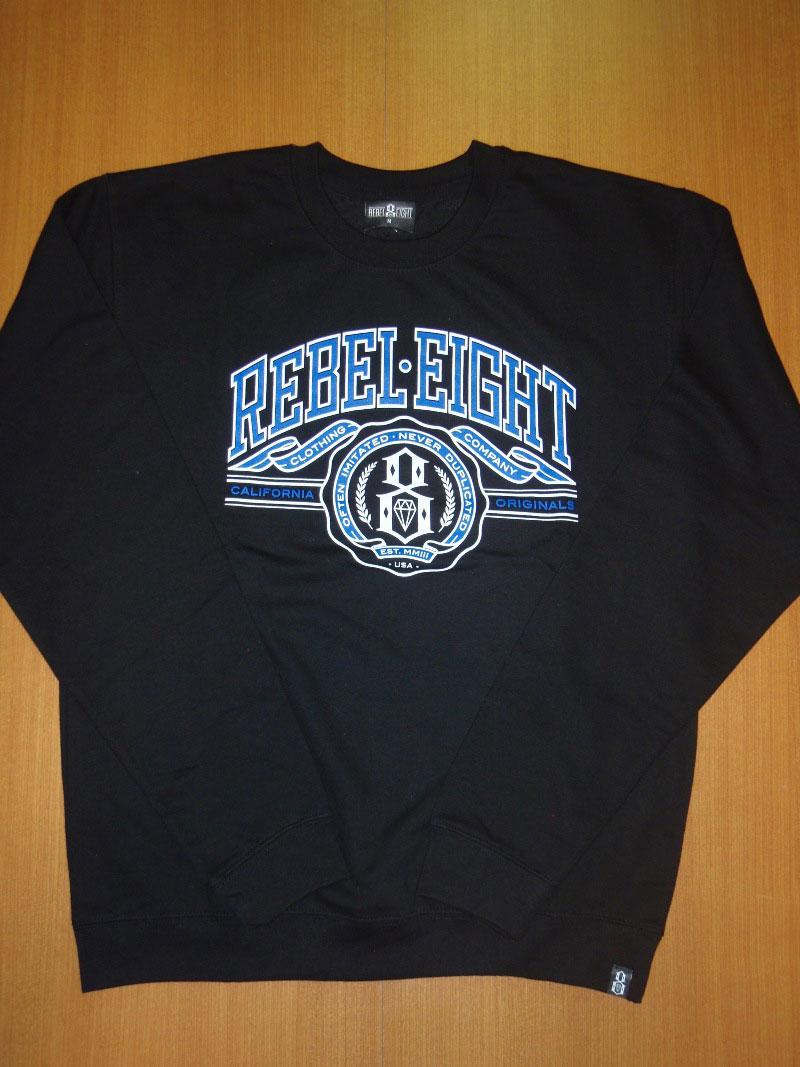 2014 REBEL8 Fall CrewNeck MikeGiant STREETWISE クルーネック マイクジャイアント ストリートワイズ 神奈川 藤沢 湘南 スケート ファッション ストリートファッション ストリートブランド