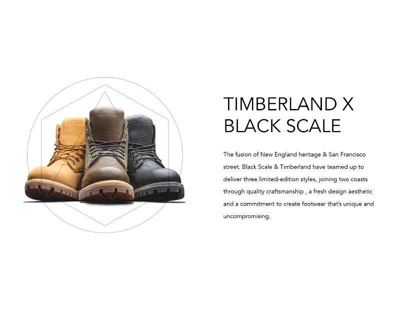 2014 Fall BlackScale TIMBERLAND ティンバーランド コラボレーション ブーツ STREETWISE ストリートワイズ 神奈川 藤沢 湘南 スケート ファッション ストリートファッション ストリートブランド