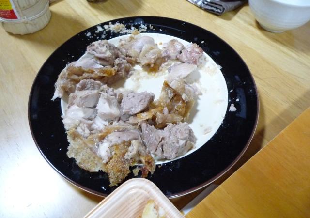 チキン塩釜焼き-3 完成