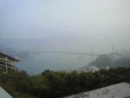 関門橋 遠望