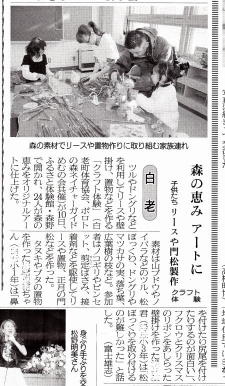 クラフト 民報新聞