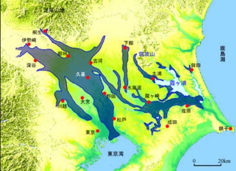 利根川氾濫域