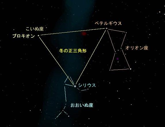 冬の大三角形