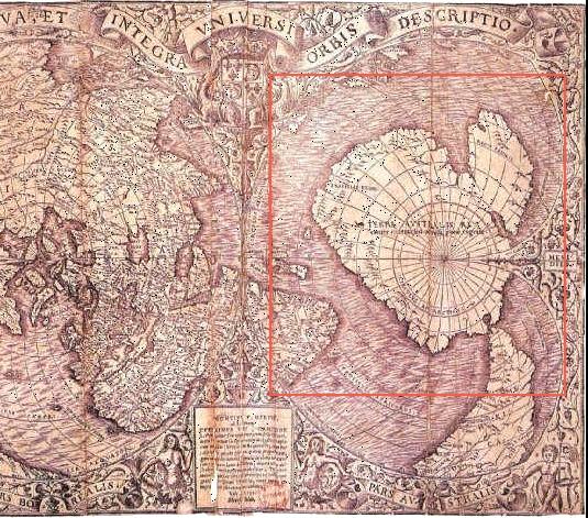 オロンディウスの南極