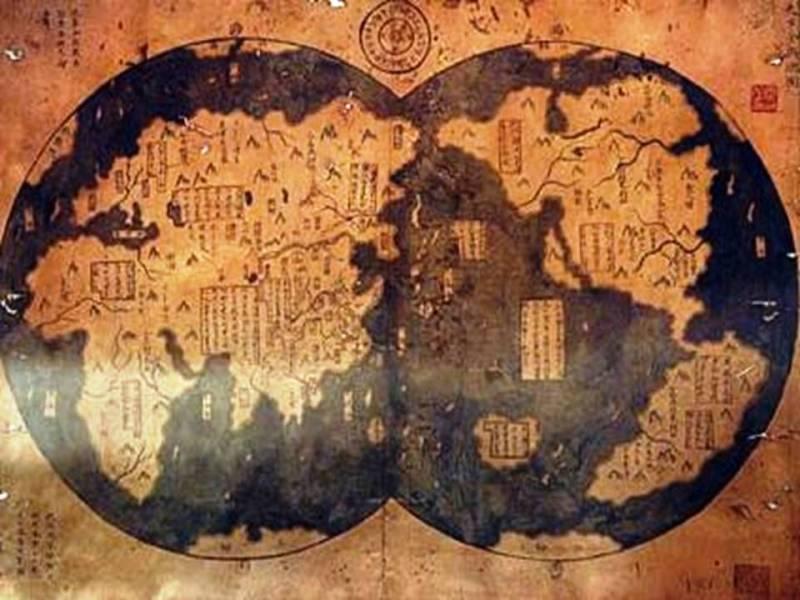 中国の1513年の地図