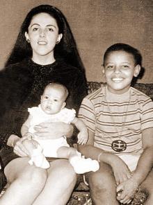 オバマの母