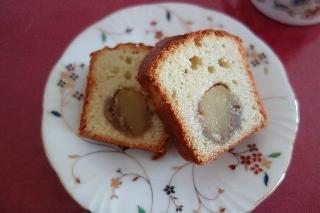 栗かのこケーキ