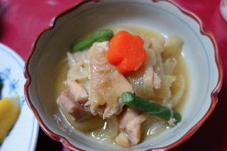 鶏肉と玉葱のバター醤油煮1216