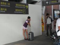松山空港でCAコスプレ撮影会1
