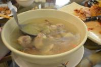 關子嶺竹香園の排骨タケノコスープ130206