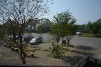 關子嶺水火同源の駐車場130207