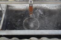 恒例富野溫泉休閒會館の温泉卵作り130208