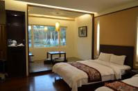 怡園渡假村典雅4人房の和室