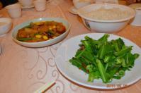 20110925怡園渡假村の夕食