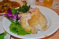 20110925怡園渡假村の蒸し鶏
