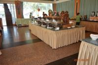 怡園渡假村の朝食バイキング